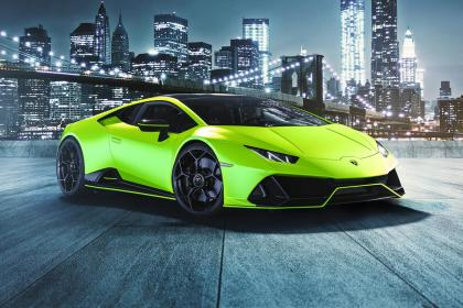 Lamborghini presenta el Huracán EVO Fluo Capsule
