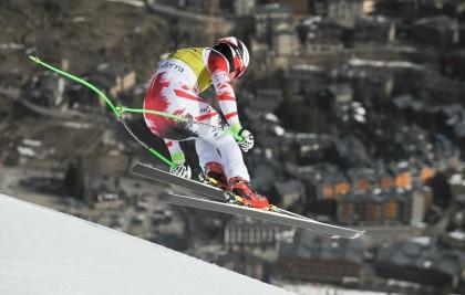 Las finales de la Copa de Europa de esquí alpino preparadas