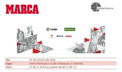 MARCA entrega los Premios del Fútbol Femenino