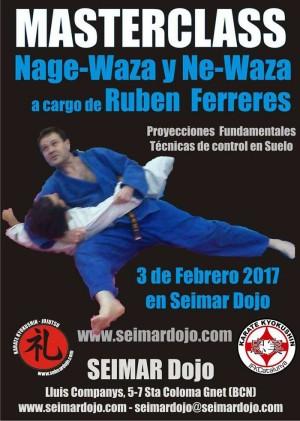 Masterclass de Nage-waza y Ne-waza