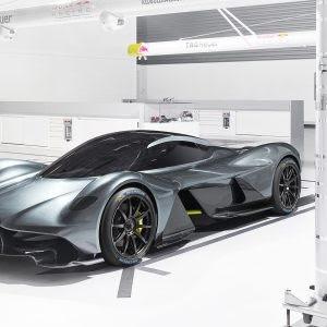 Michelin, proveedor oficial del nuevo Aston Martin Valkyrie