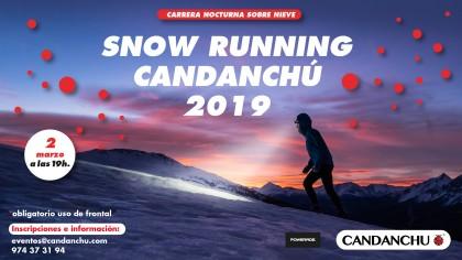 Participa en la Snow Running nocturna Candanchú