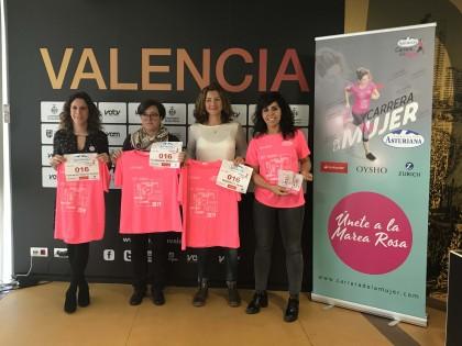 Presentación de la Carrera de la Mujer de Valencia