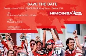 Presentación oficial del HIMOINSA Racing Team 2018