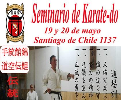 Seminario de Karate-Do en Uruguay