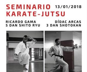 Seminario de Karate-Jutsu en Barcelona