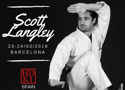 Seminario de Karate Shotokan con Scott Langley sensei