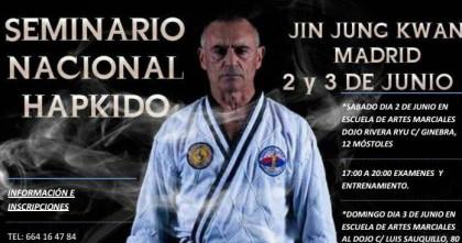 Seminario Nacional de Hapkido JJK