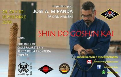 Shindo Goshin Kai en Jerez de la Frontera