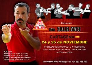 Sifu Salih Avci en Cartagena