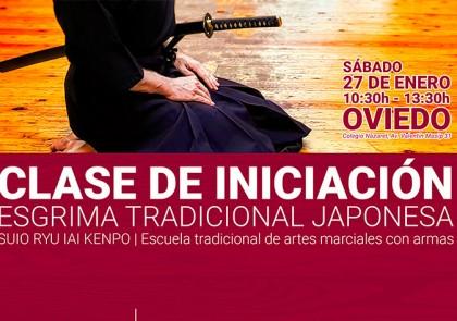 Suio ryu en Oviedo