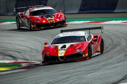 Paulet regresa al podio de la Ferrari Challenge