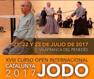 ZNKR-Jodo en Barcelona con Robert Rodriguez, 6º Dan