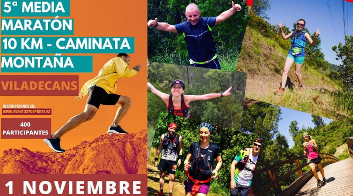 Últimos dorsales para la 5ª Media Maratón – 10 KM Montaña Viladecans 2020