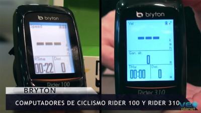 Videoanálisis: Ciclocomputadres Rider 100 y Rider 310 de BRYTON