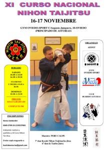 XI Curso de Nihon Taijitsu/Ju-Jitsu a cargo del maestro Pere Calpe