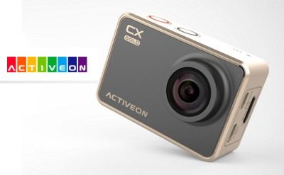 Ya está disponible la cámara de acción Activeon CX Gold