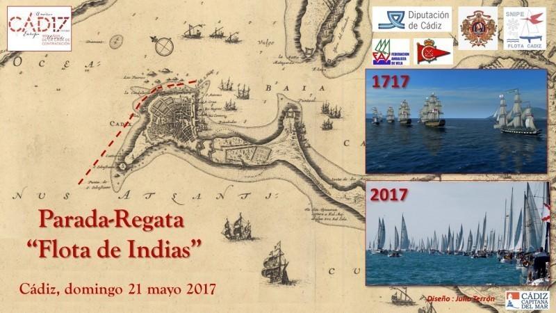 Aviso a Navegantes para la Parada-Regata Flota de Indias