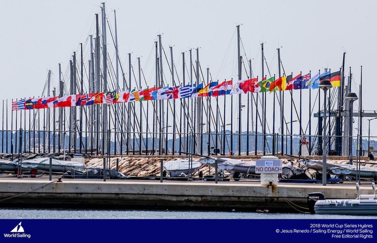 20 tripulaciones nacionales en la regata World Sailing