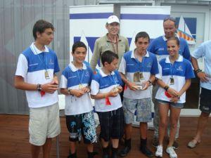 El Real Club Náutico de Torrevieja gana el Campeonato Autonómico de Optimist por equipos