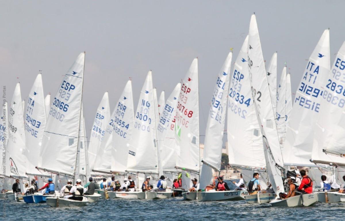 50 barcos inscritos en el Nacional de Snipe