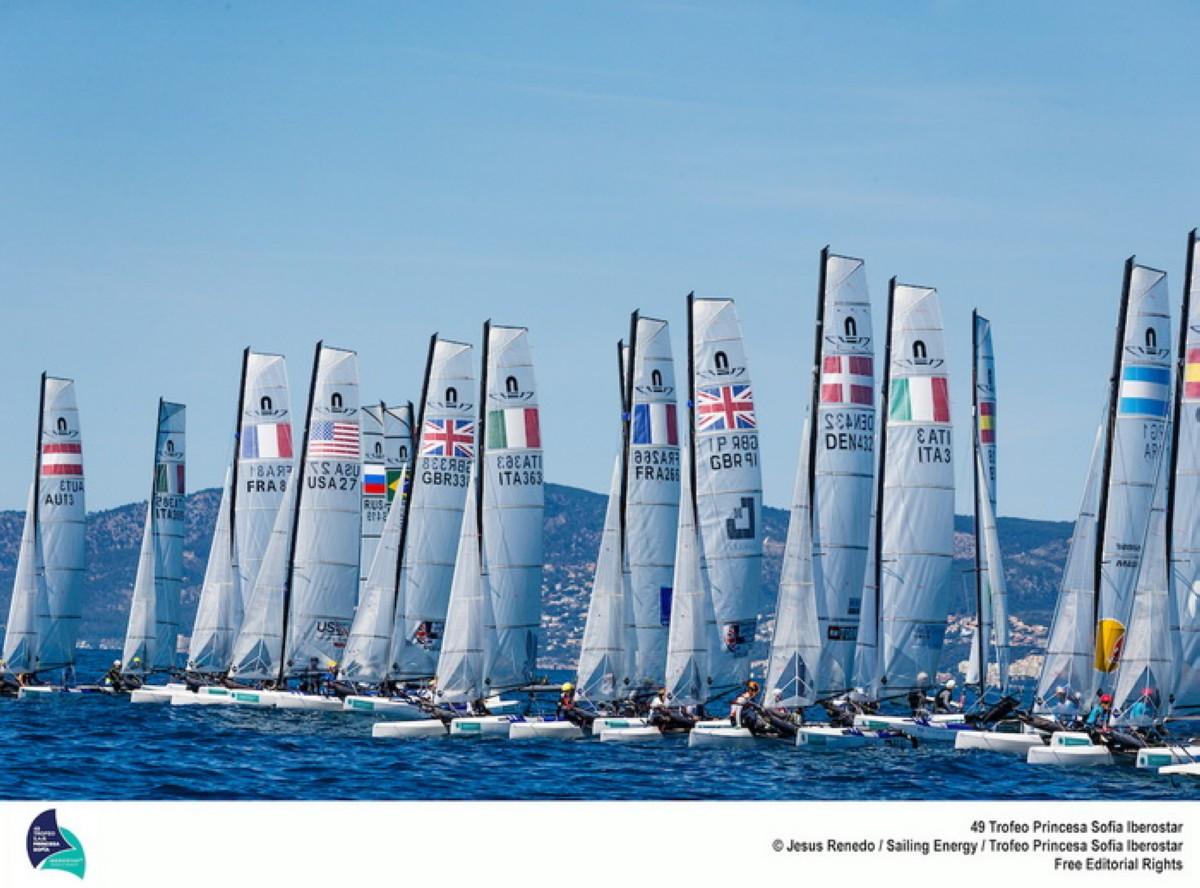 850 barcos en el 50º Trofeo SAR Princesa Sofía Iberostar.