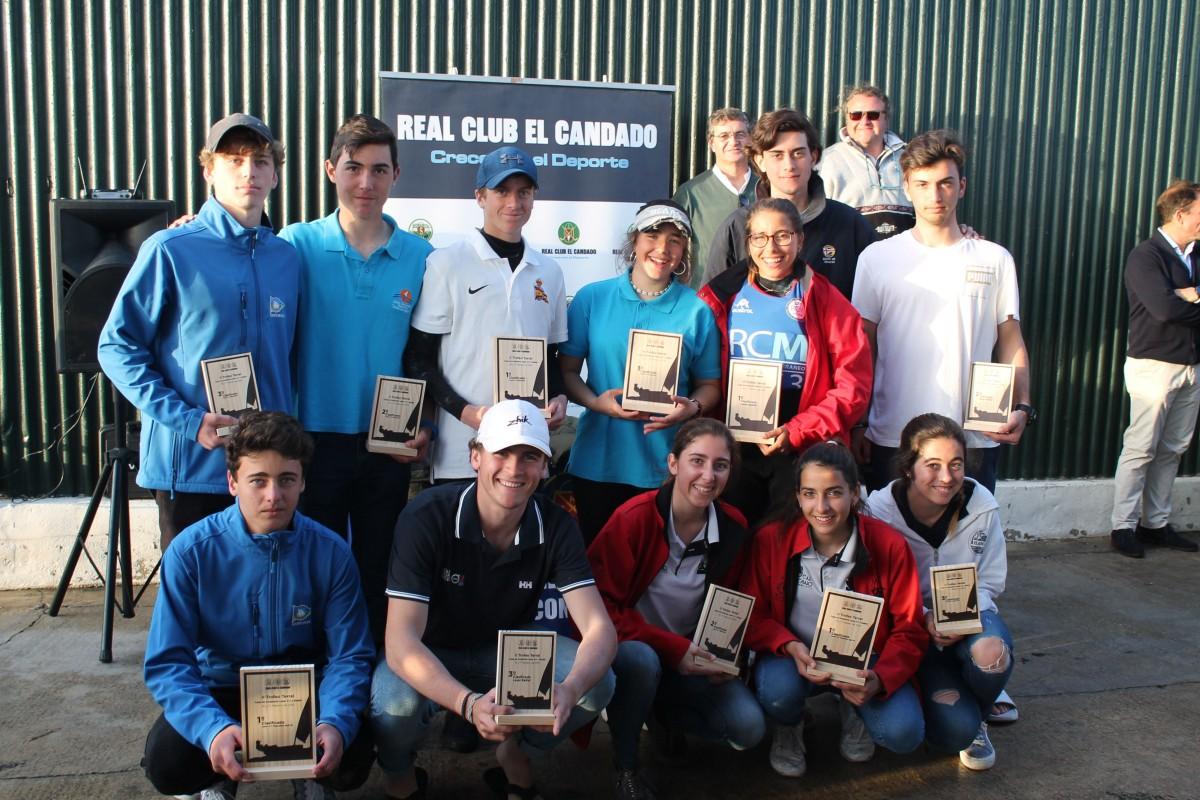 90 embarcaciones en la Copa de Andalucía Láser