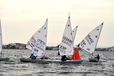 Gran nivel deportivo y técnico en la II Regata Láser Región de Murcia