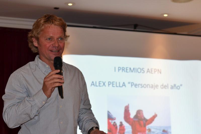Alex Pella recibe el premio Personaje del Año