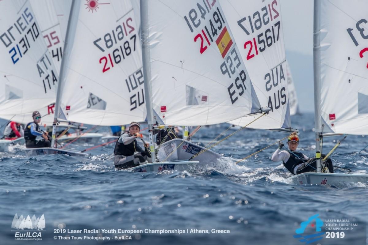 Ana Moncada trabaja ya con el equipo pre-olímpico de Láser Radial