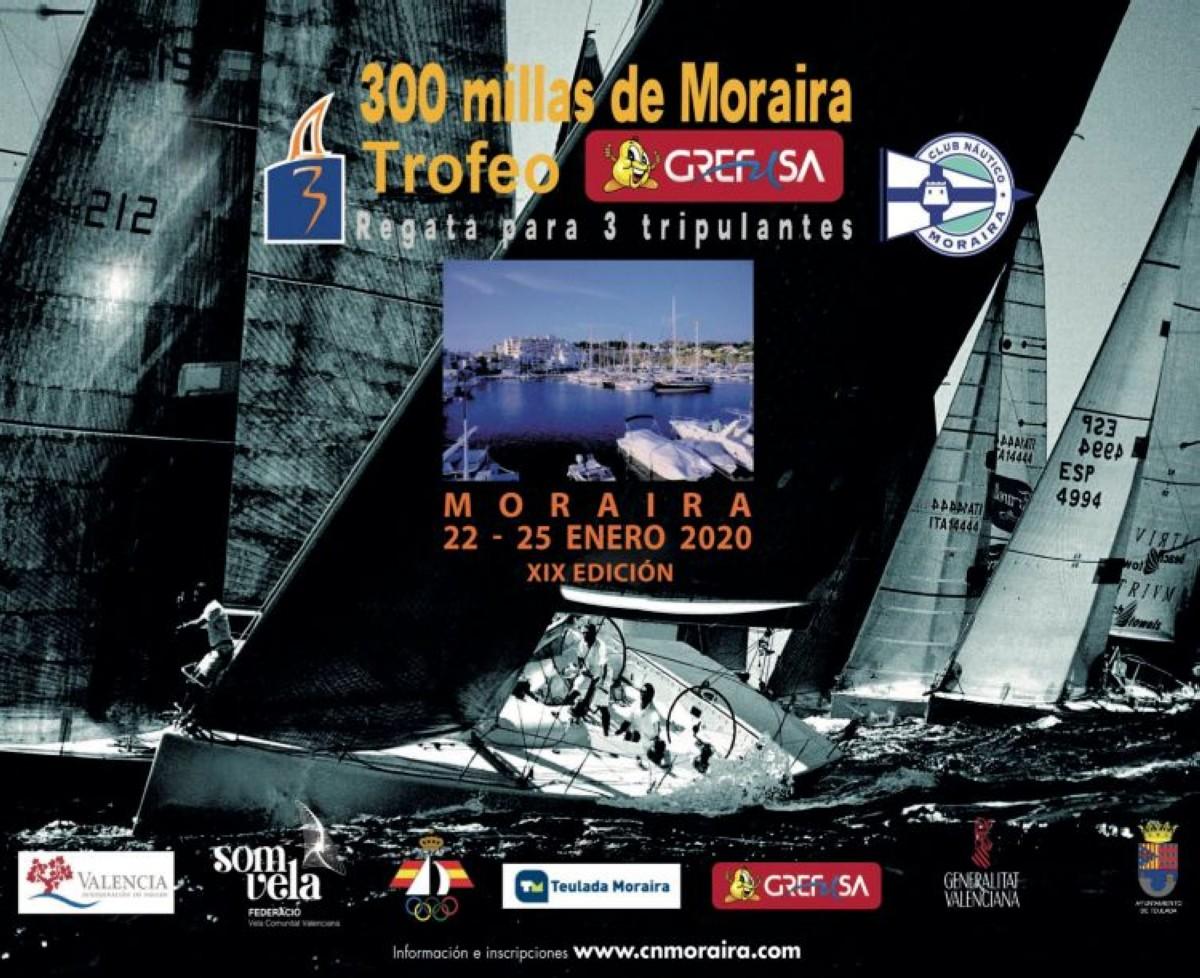 Aplazada 24 horas la salida de las 300 Millas de Moraira Trofeo GREFUSA