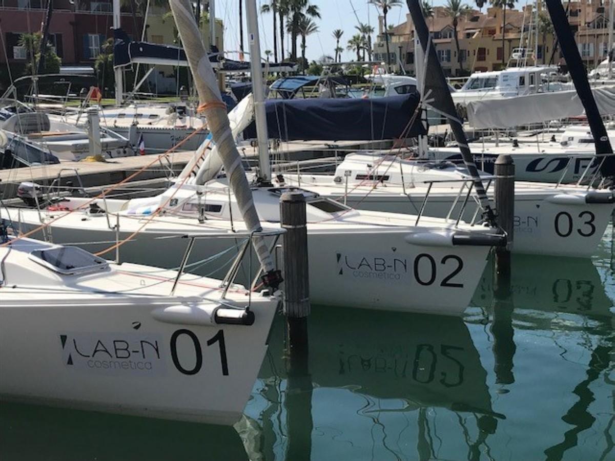 Aplazado el Trofeo J80 Spain Salud Excelencia por falta de viento