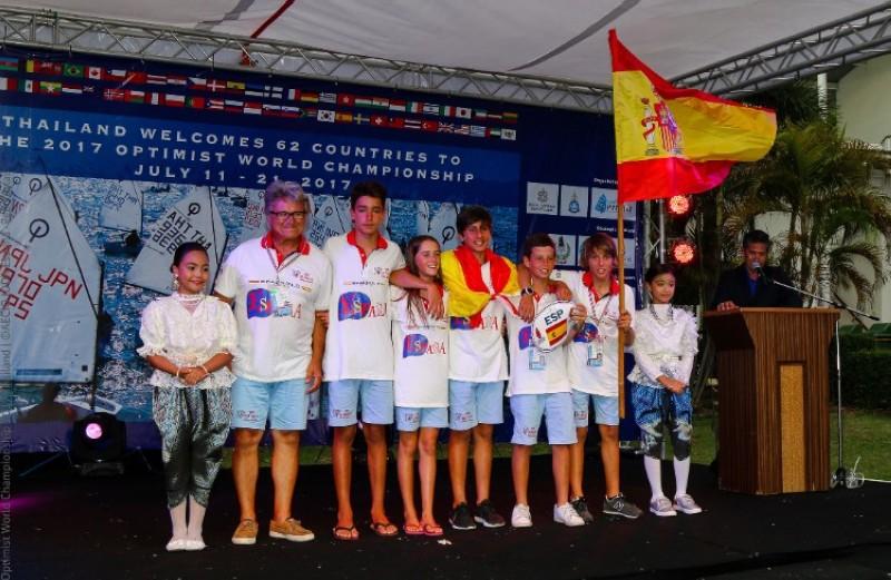 Arranca el Mundial de Optimist en Tailandia