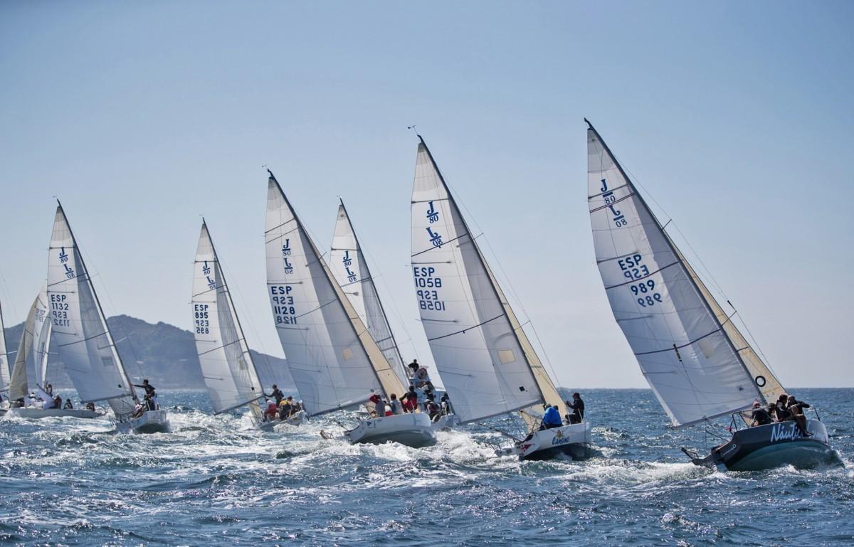 Baiona se prepara para el  Campeonato de España de J80