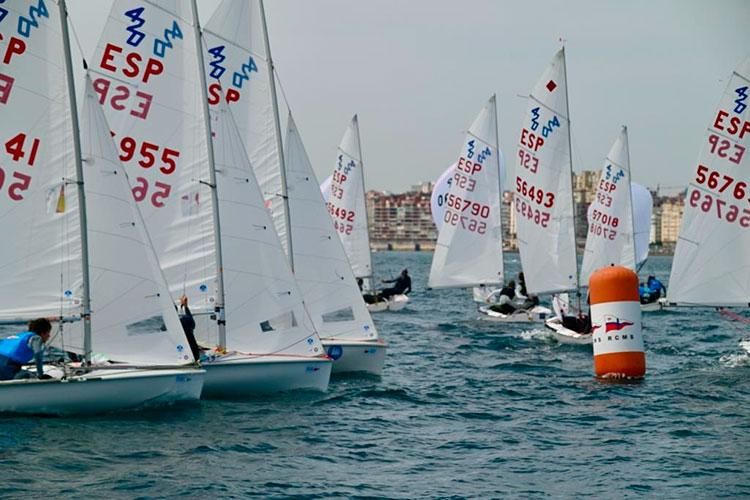 Baleares destaca en el Campeonato de España de 420