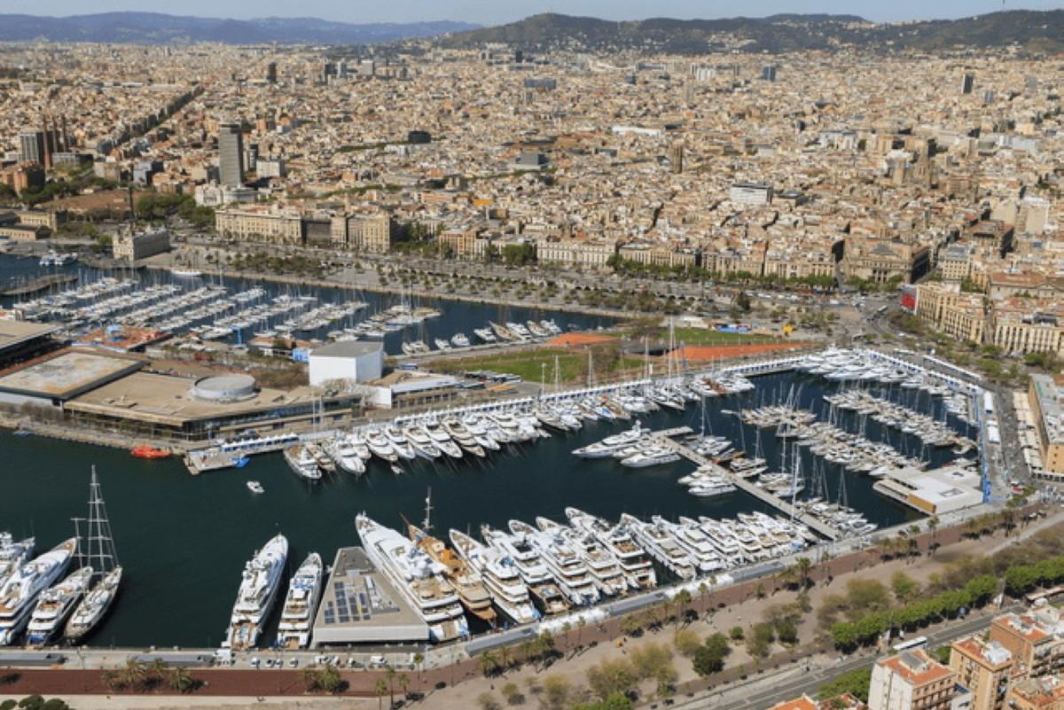 Barcelona capital mundial del yate