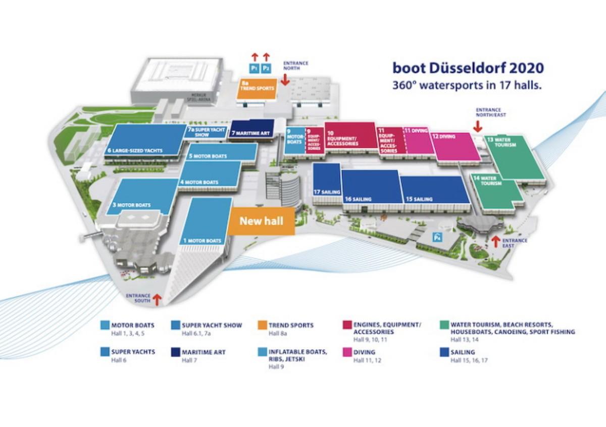 BOOT 2020 el Salón Náutico de Düsseldorf 2020