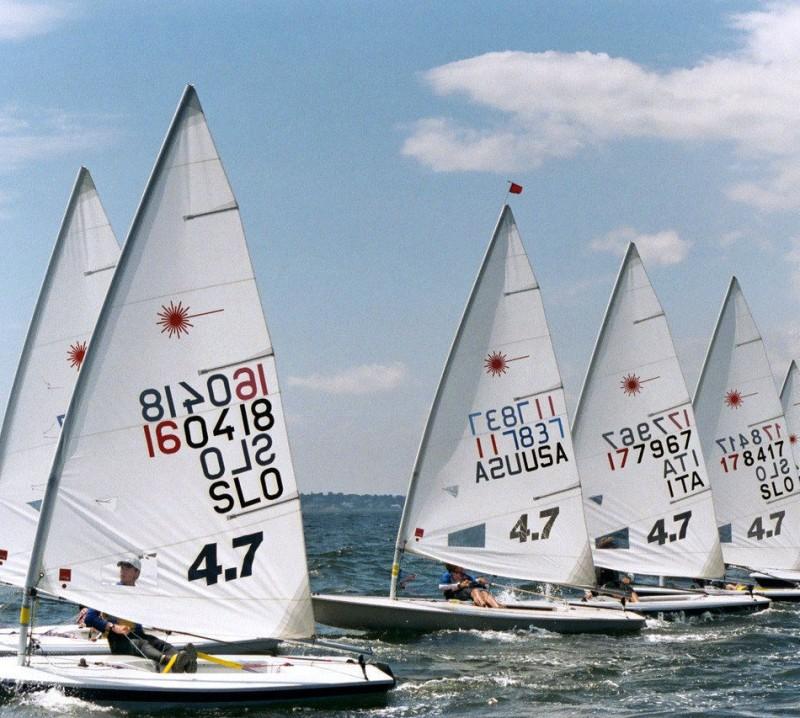 Campeonato del Mundo de Láser 4.7 en Nieuwpoort