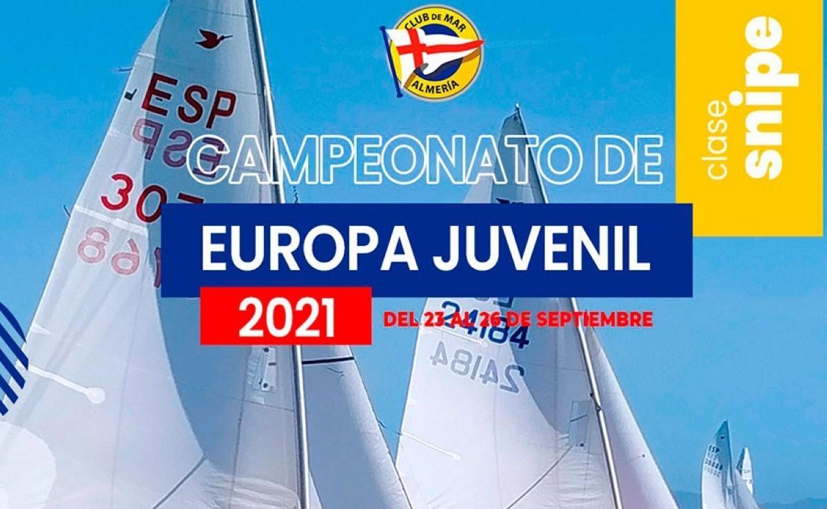 Campeonato de Europa de Snipe Junior en Cádiz