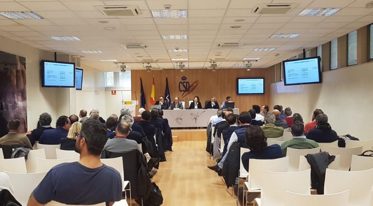 Celebrada la Asamblea General RFEV