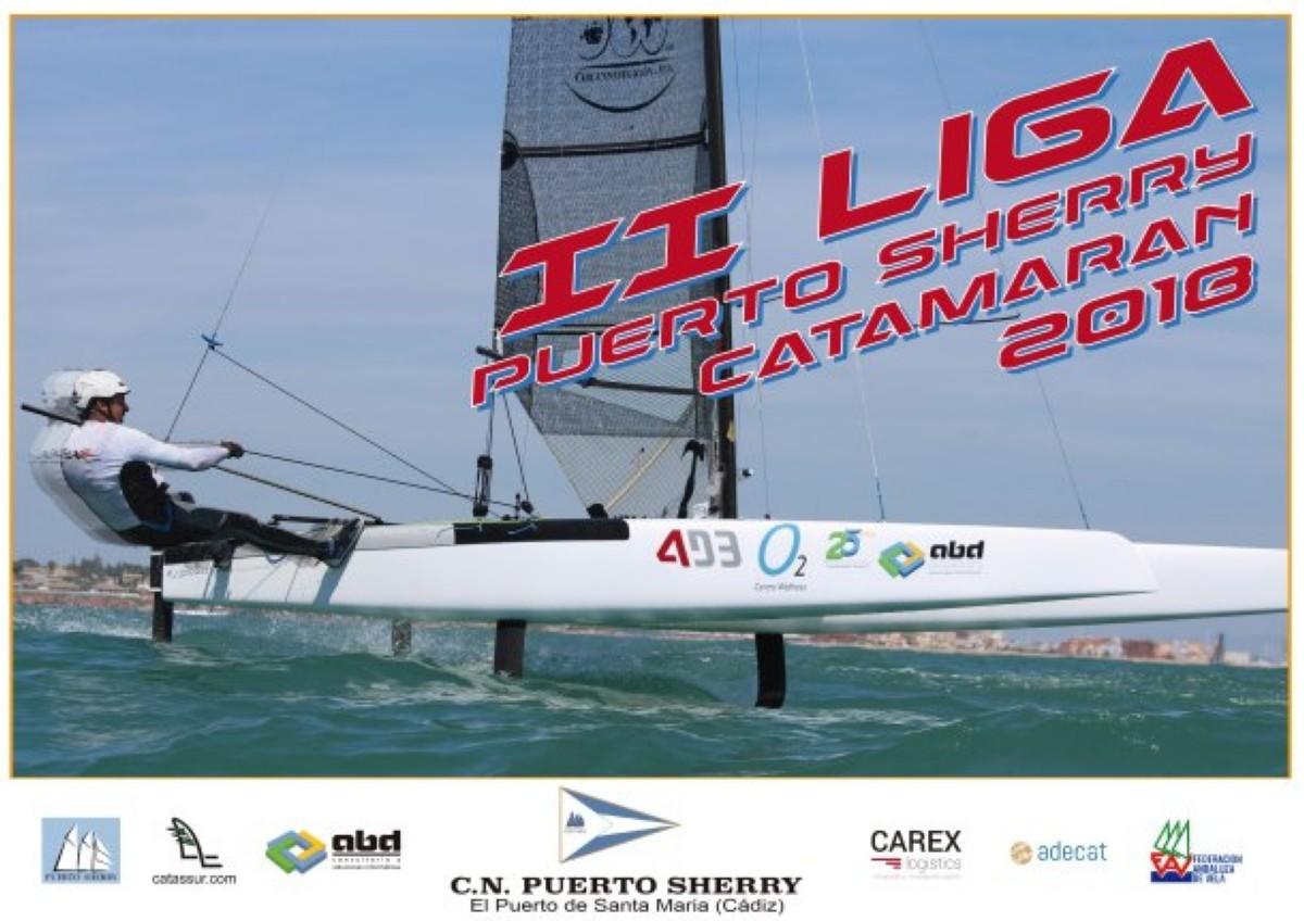 Celebrada II Liga de Catamarán del CN Puerto Sherry