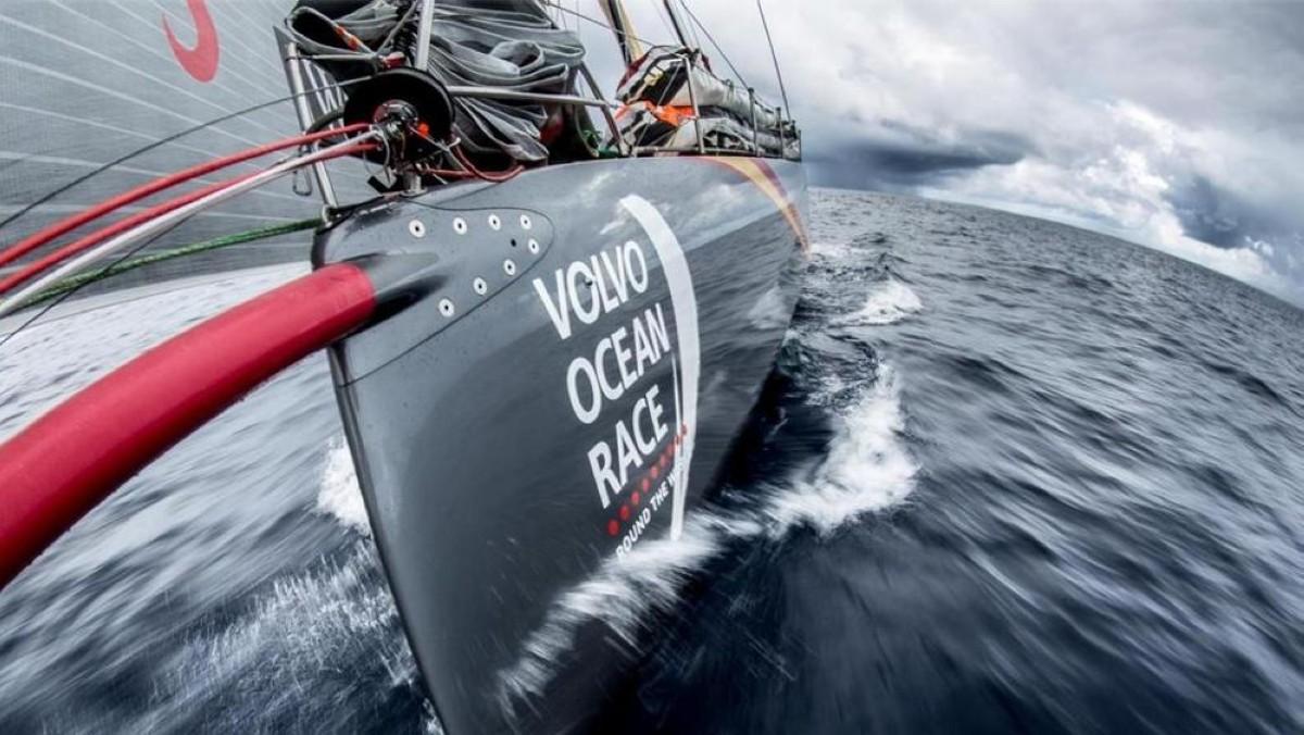 Cinco de los siete barcos en modo sigilo en la Volvo