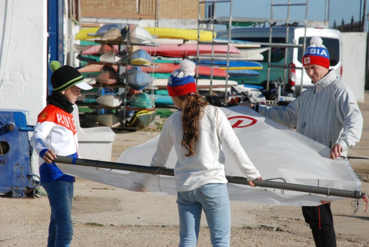 Comienza en Cádiz la Excellence Cup de Optimist