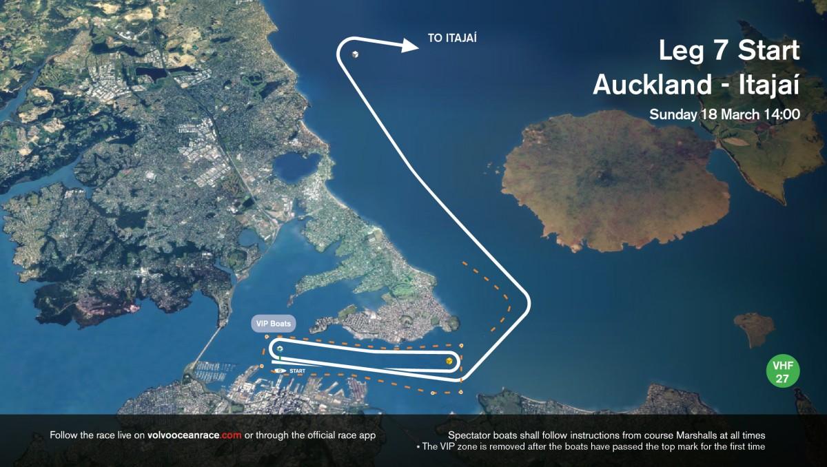 Cómo seguir el inicio de la Etapa 7 de la Volvo Ocean Race
