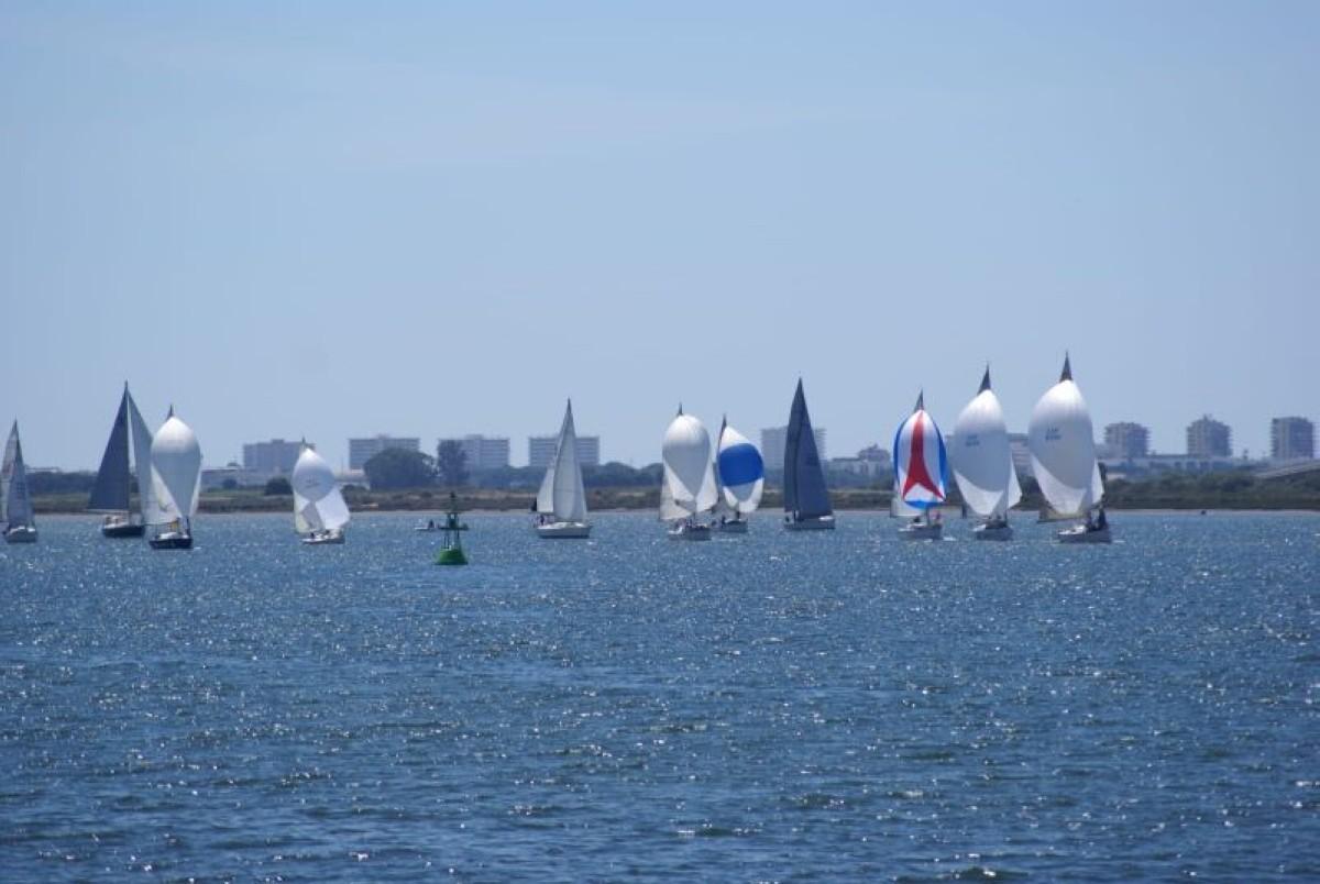 Cuarta jornada de la Liga de Cruceros Bahía de Huelva