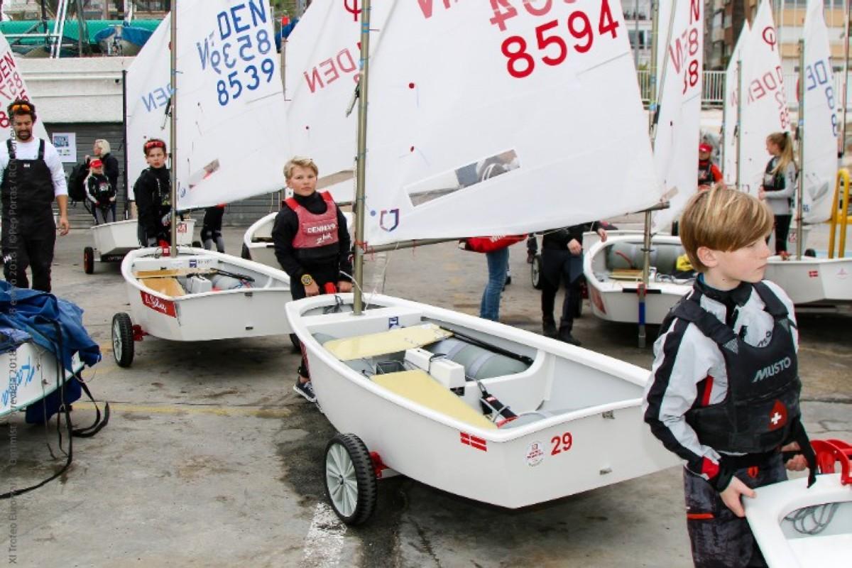 Cuenta atrás para el XI Trofeo Euromarina Optimist Torrevieja
