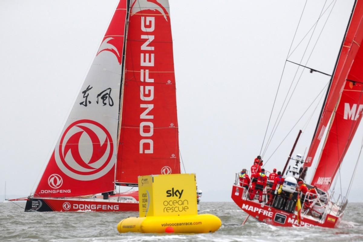 Dongfeng Race Team se lleva la Sky Ocean Rescue In-Port Race
