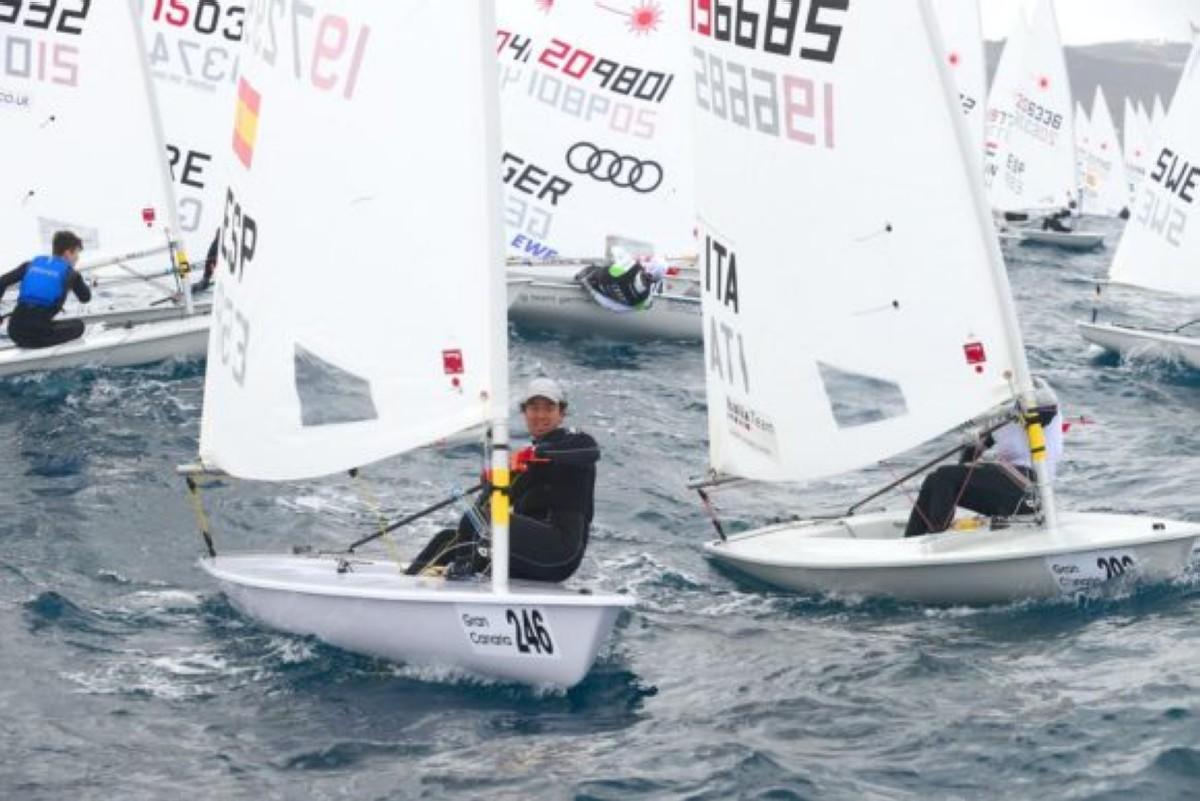 Dos medallas para los juveniles españoles de Laser