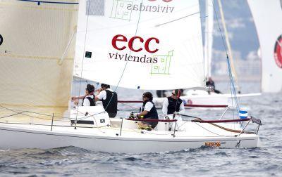 El Campeonato de España de J80 an A Coruña