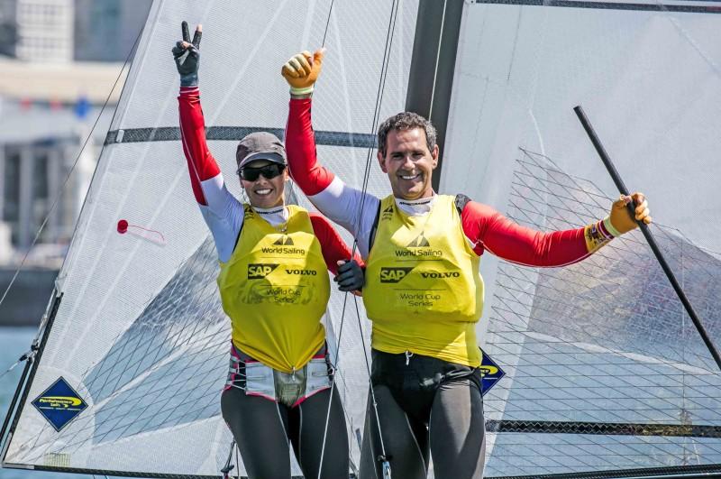 Echávarri y Pacheco recogerán en Baiona el Premio Nacional de Vela